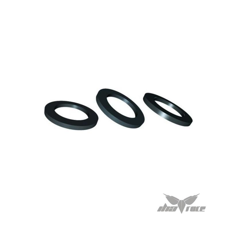 Arandela de Nylon para tornillos M3 grueso 1 - 3 mm