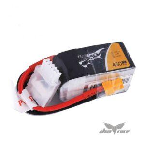 Batería Lipo Tattu 450mAh 14,8V 75C 4S1P XT30