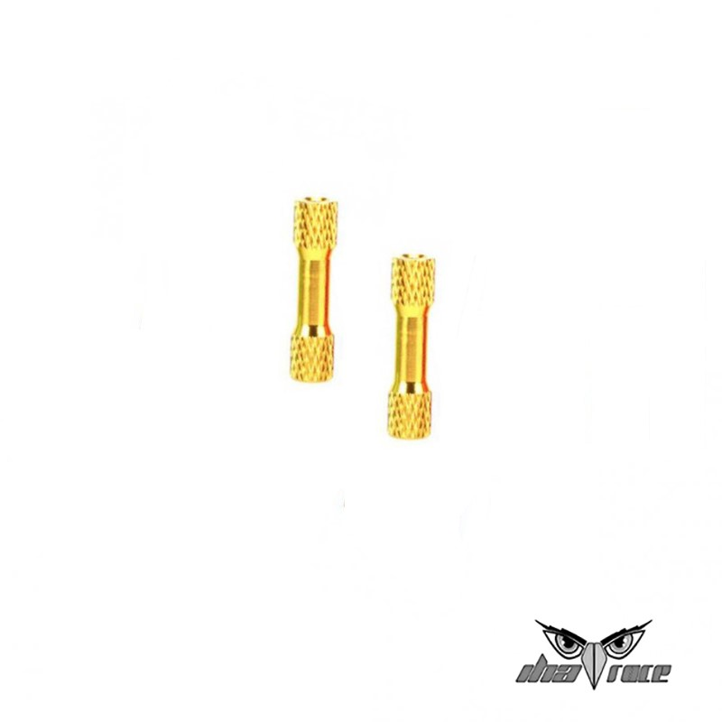 comprar columnas distanciamiento M3 35mm aluminio fpv amarillo mejor precio