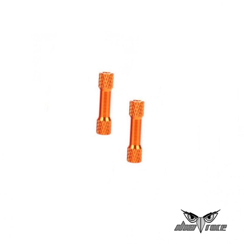 comprar columnas distanciamiento M3 35mm aluminio fpv naranja oferta