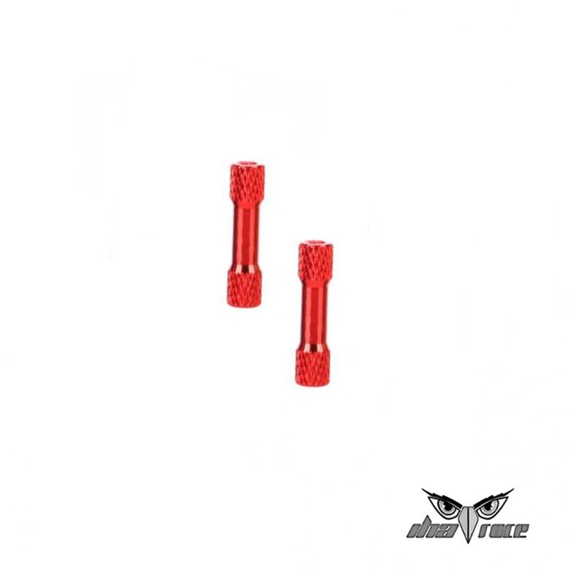 comprar columnas distanciamiento M3 35mm aluminio fpv rojo drones carrera