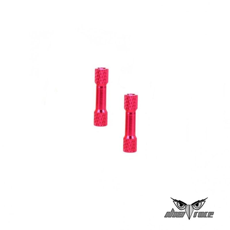 comprar columnas distanciamiento M3 35mm aluminio fpv rosa repuestos drones
