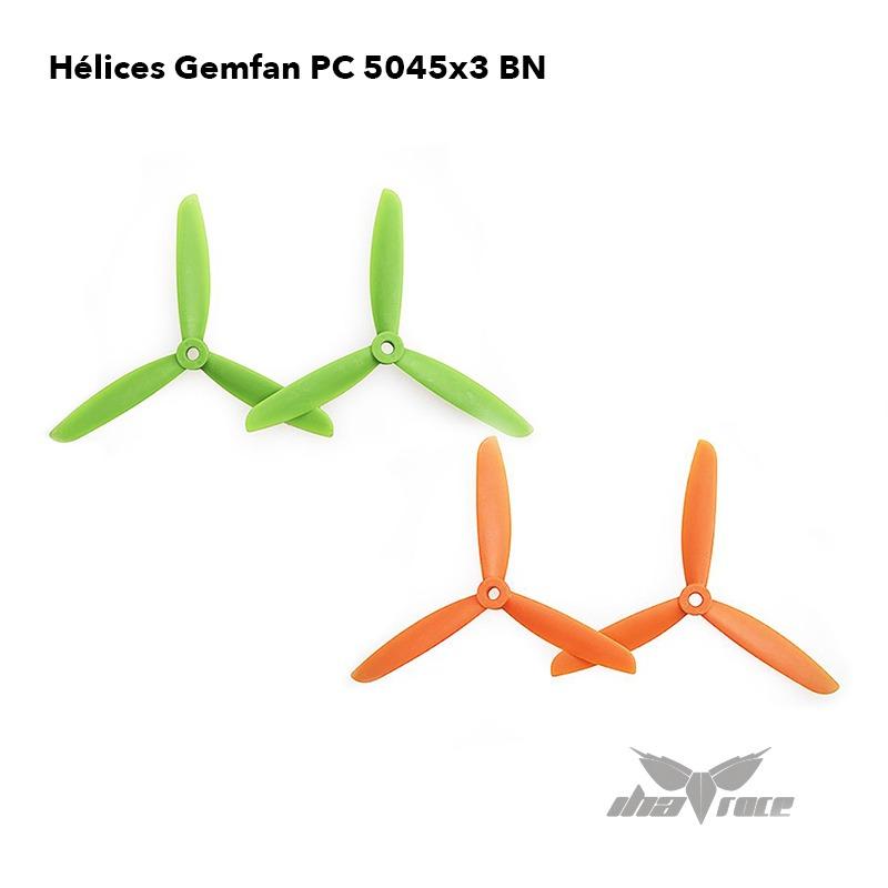 helices gemfan PC 5045X3 BN