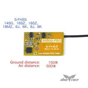 Receptor compatible Futaba RX800 PRO