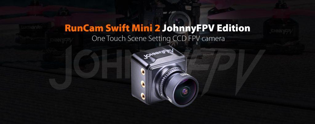 Cámara FPV RunCam Swift Mini 2 JohnnyFPV Edition