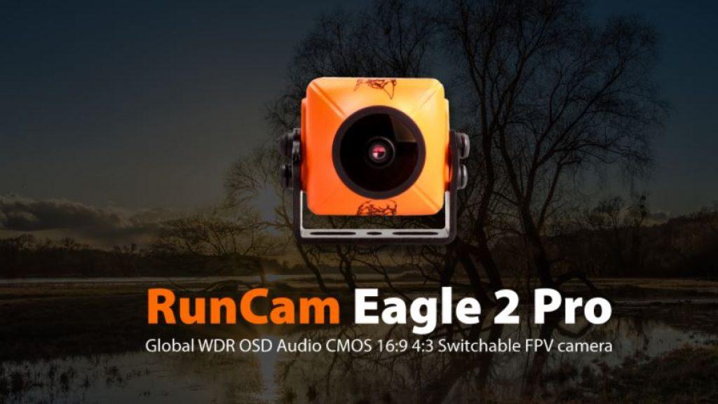 Cámara FPV RunCam Eagle 2 PRO - Naranja