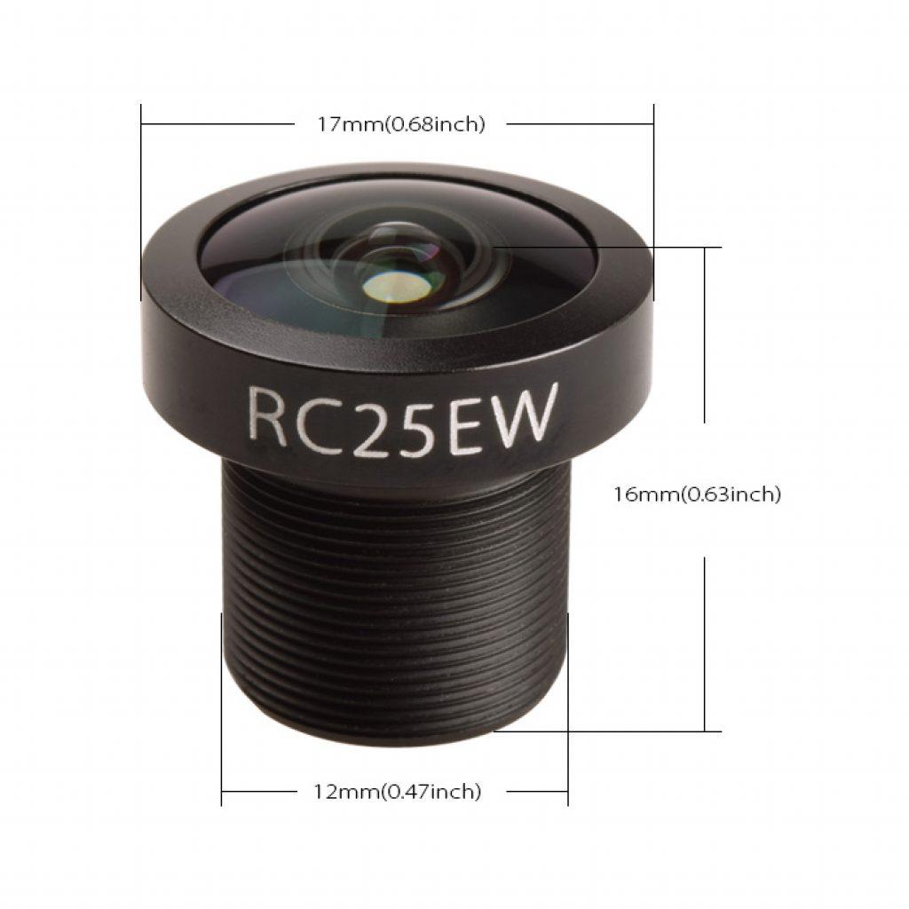 Lente RunCam cámara FPV gran angular Eagle2 16: 9