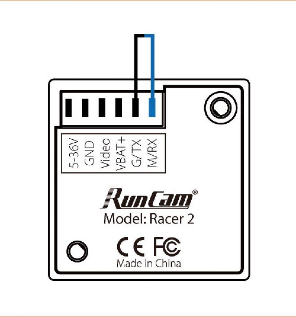 Cámara FPV RunCam Racer 2 L2.1