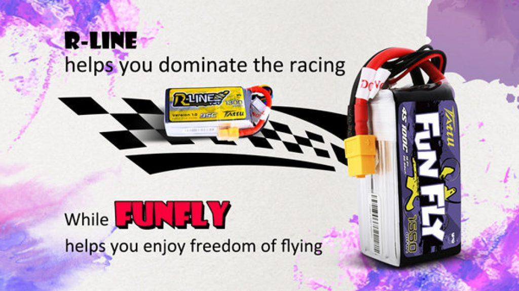 comprar Batería Tattu Fun Fly 1550 mAh en españa barato