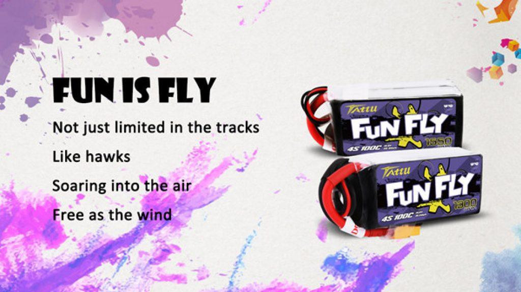 mejores ofertas Tattu Fun Fly 14.8V 100C 4S1P españa