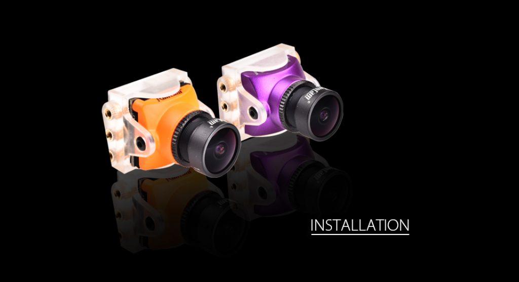 RunCam Soporte para Micro cámaras (2 unidades)