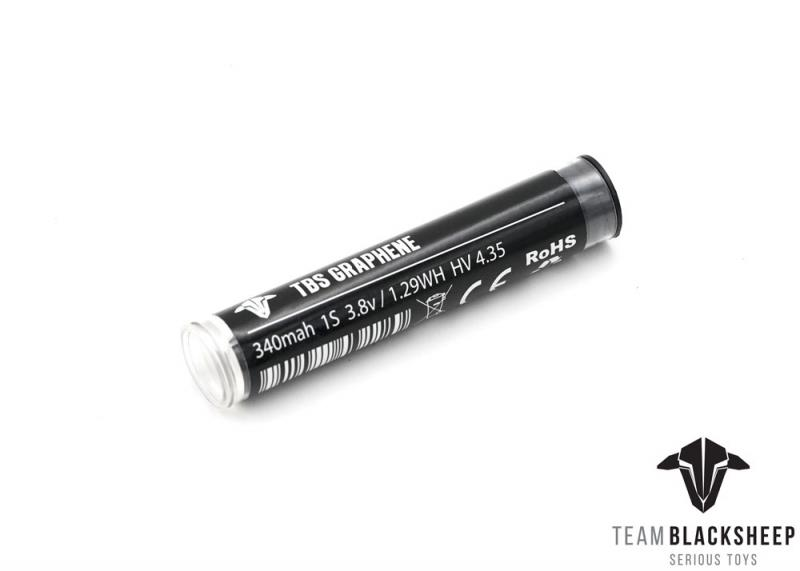 Batería TBS Graphene 340 mAh 1S HV
