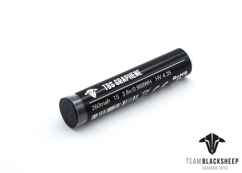Batería TBS Graphene 260 mAh 1S HV