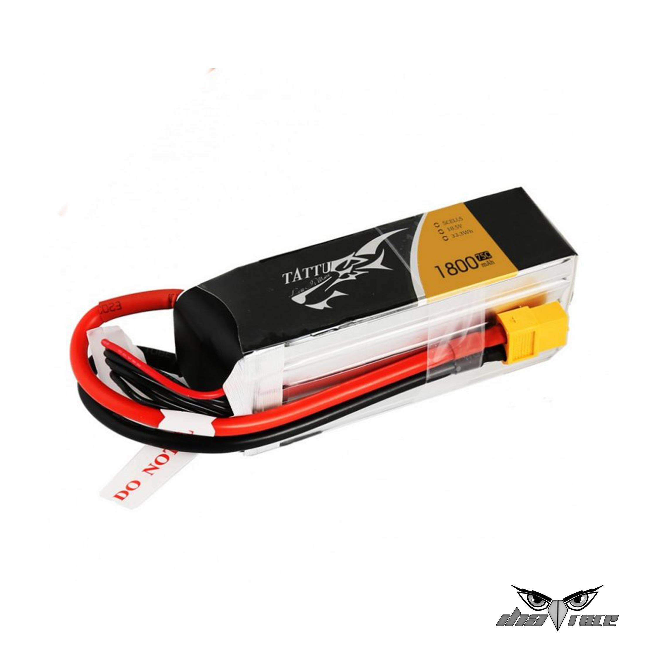 Batería TATTU 5S 1800mAh 75C 18.5V XT60 comprar barato