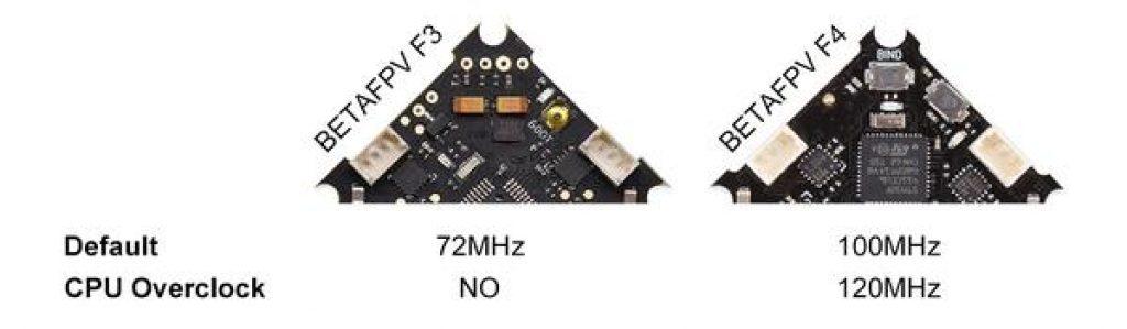 BetaFPV Controlador de vuelo F4 1S Brushless OSD (No RX)