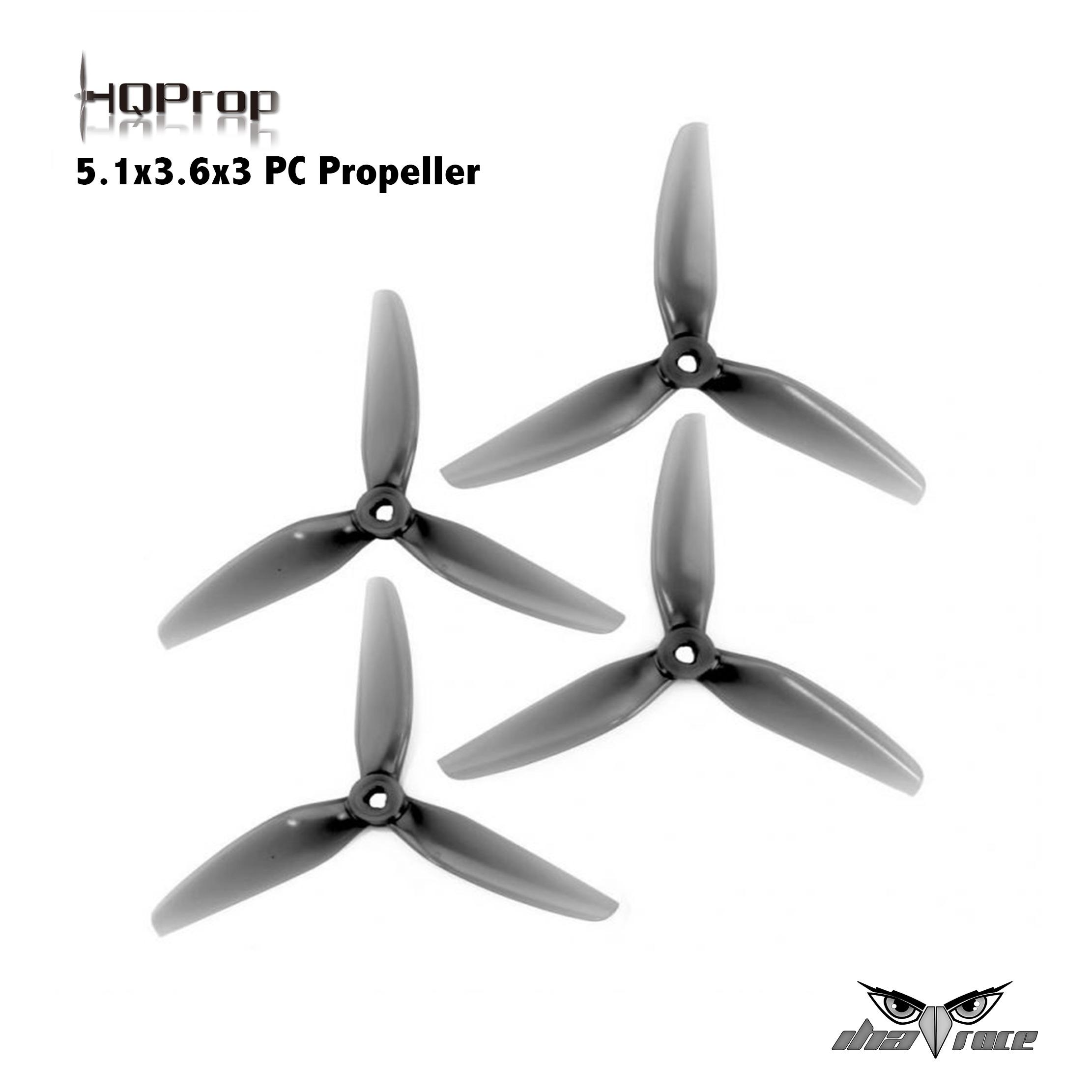 HQProp 5.1x3.6x3 PC Propeller (Gris)