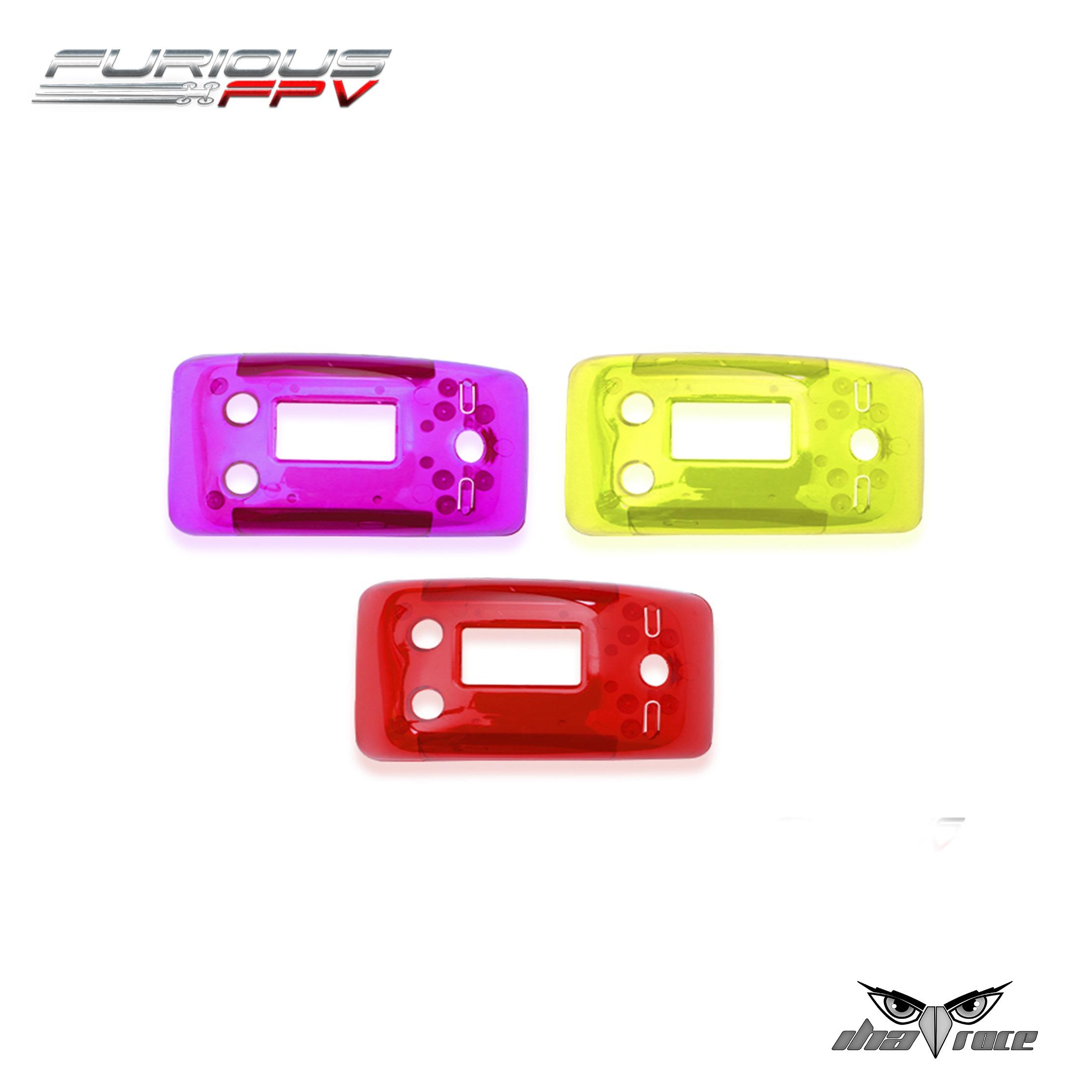 FuriousFPV - Paquete de cubiertas True-D X - Púrpura + Rojo + Amarillo