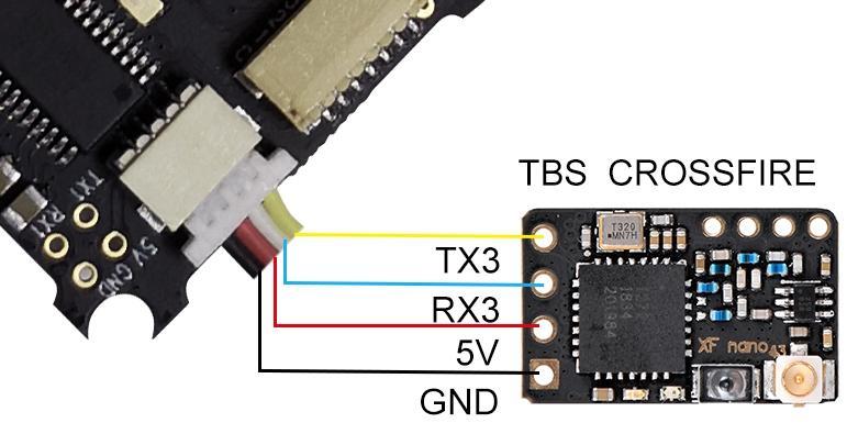 Control de Vuelo BetaFPV F4V2 2S + BL_Heli32 ESC 16A