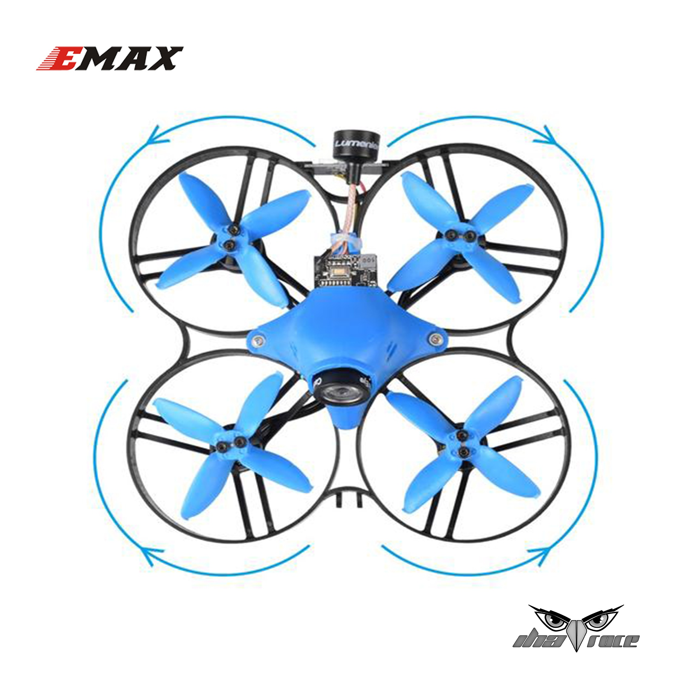 "Hélices Emax 2"" 4 Palas (Eje 1.5 mm)"