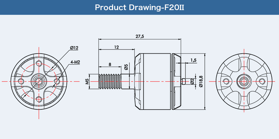 Motor T-Motor F20Ⅱ KV3250