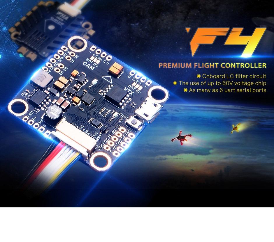 Control de Vuelo T-Motor F4