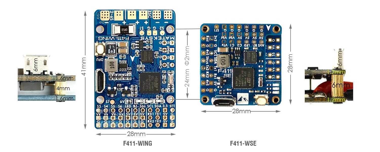 Control de Vuelo Matek F-411 WSE
