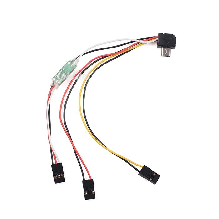 Cable Control Remoto para RunCam 2 / RunCam 3