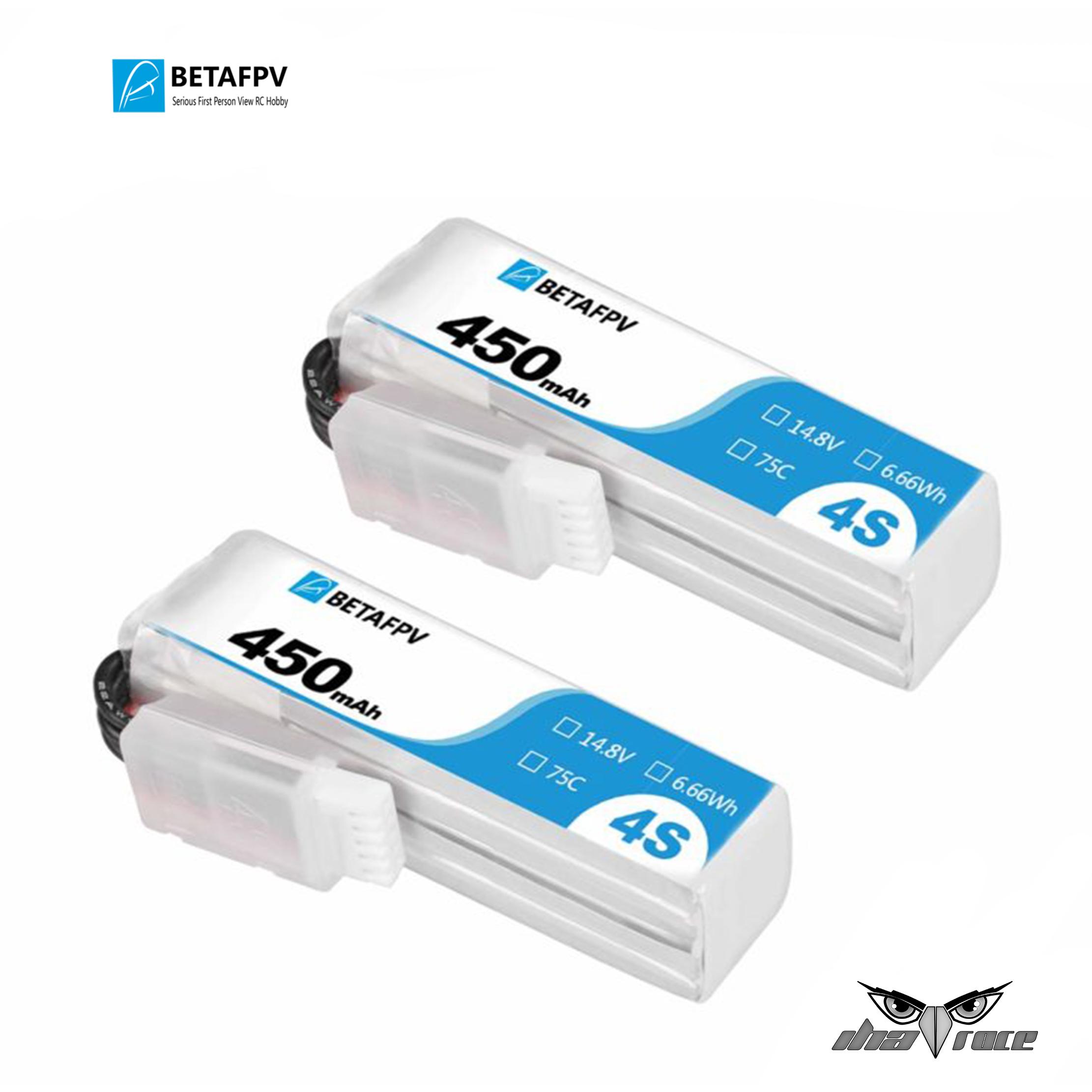 Batería BetaFPV 4S 75C 450mAh XT30 (2 Piezas)