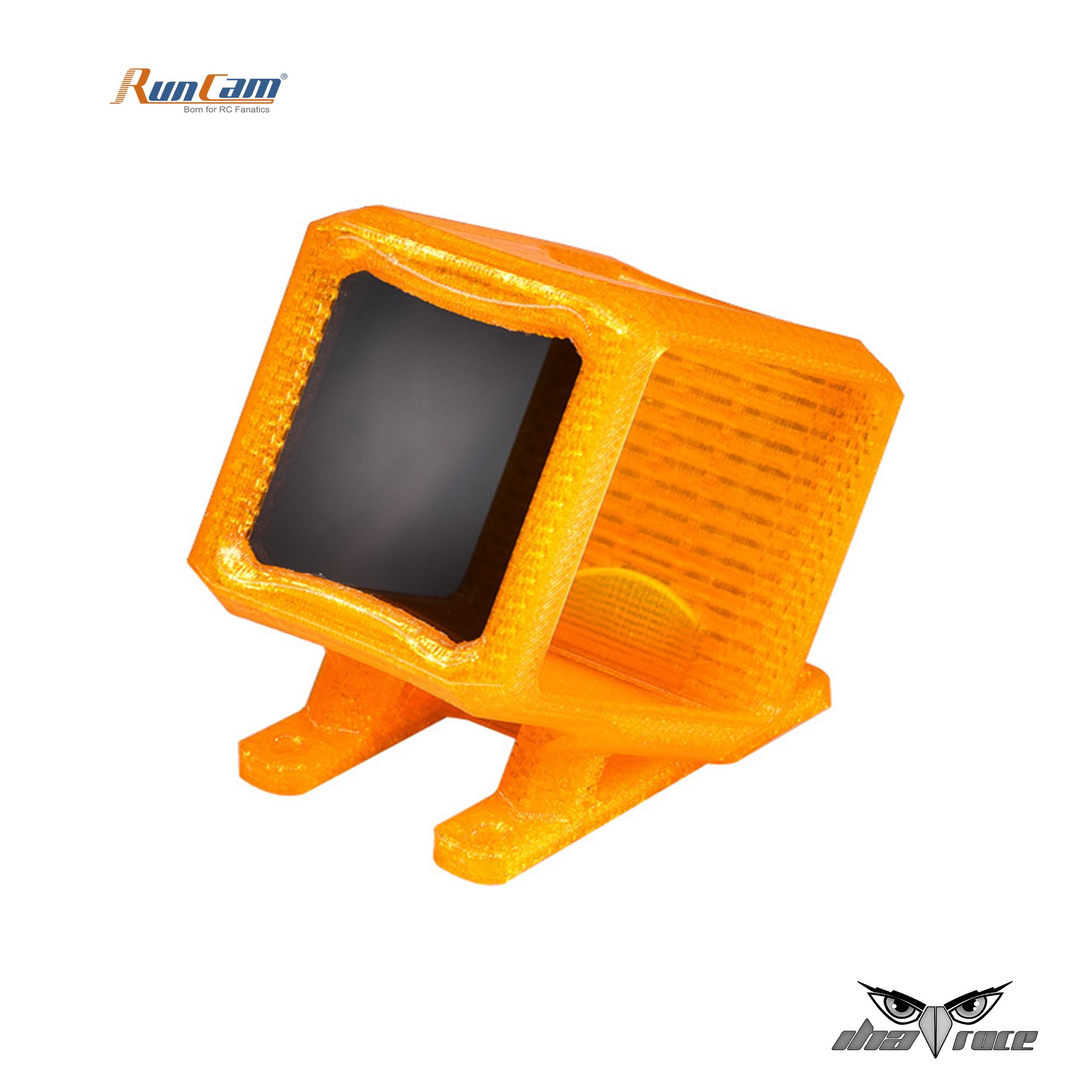 Montaje impreso en 3D RUNCAM5 TPU con filtro ND8