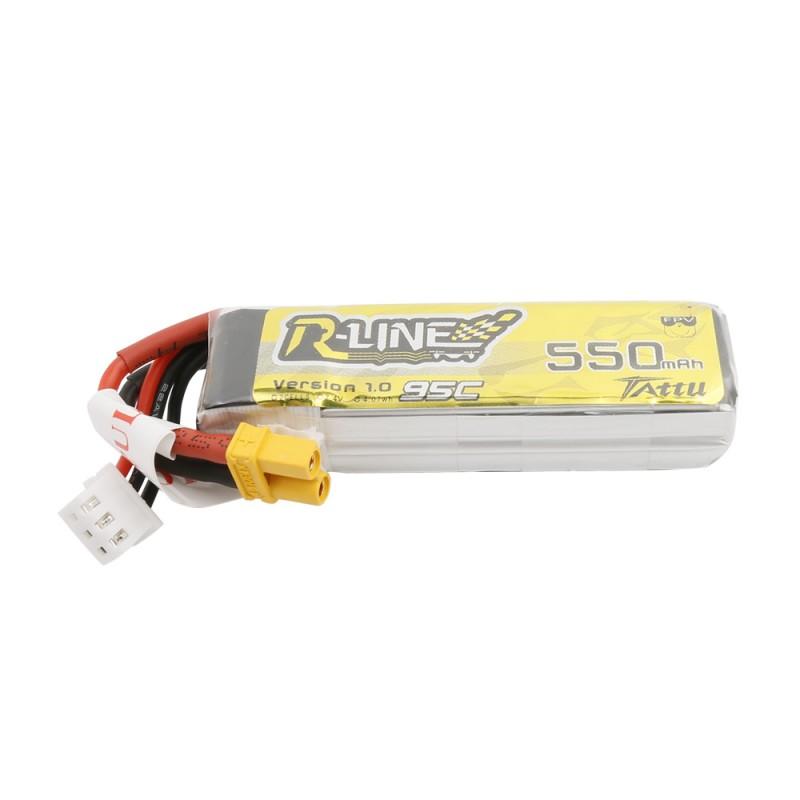 Tattu R-Line 550mAh 7.4V 2S1P 95C Batería de lipo