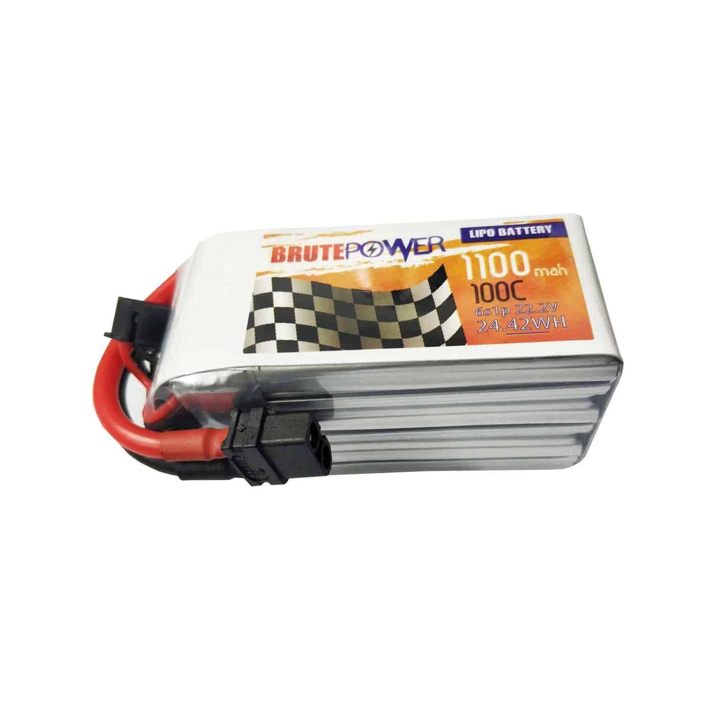 Batería Lipo Brutepower 6s 1100mah 100C
