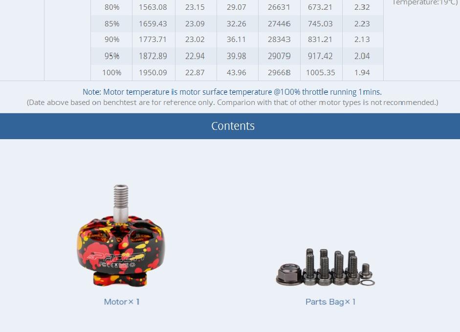 T-Motor Pacer P2208 2450Kv Mix Plateado15