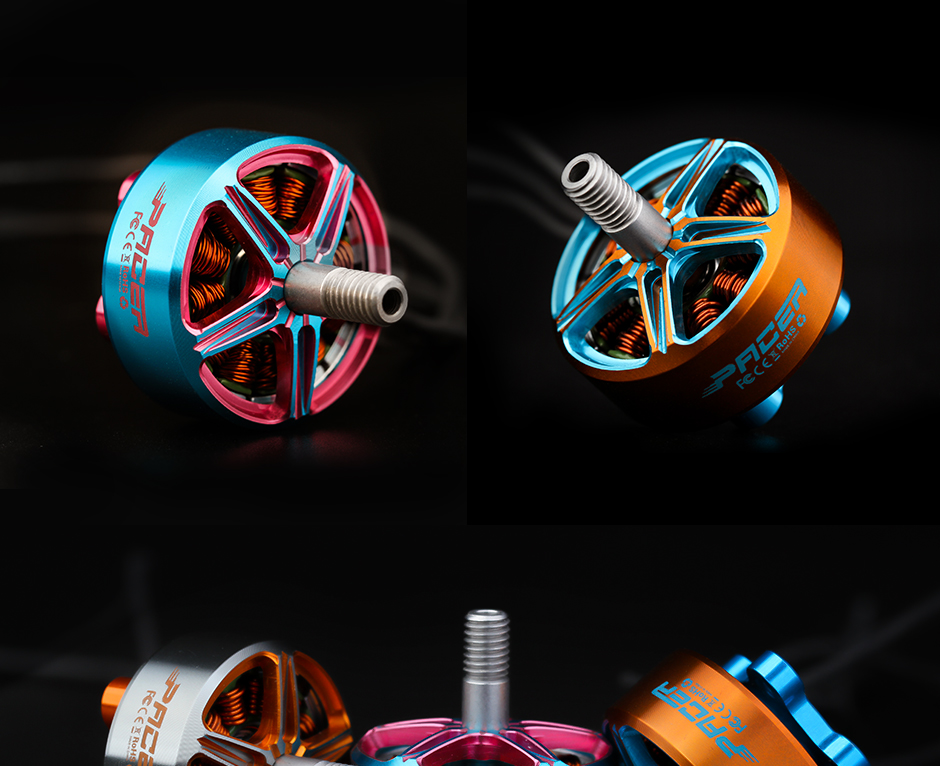T-Motor Pacer P2306.5 2400Kv Azul y Rosa5
