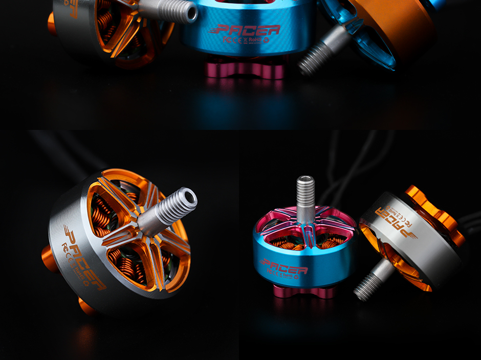 T-Motor Pacer P2306.5 2400Kv Azul y Rosa6