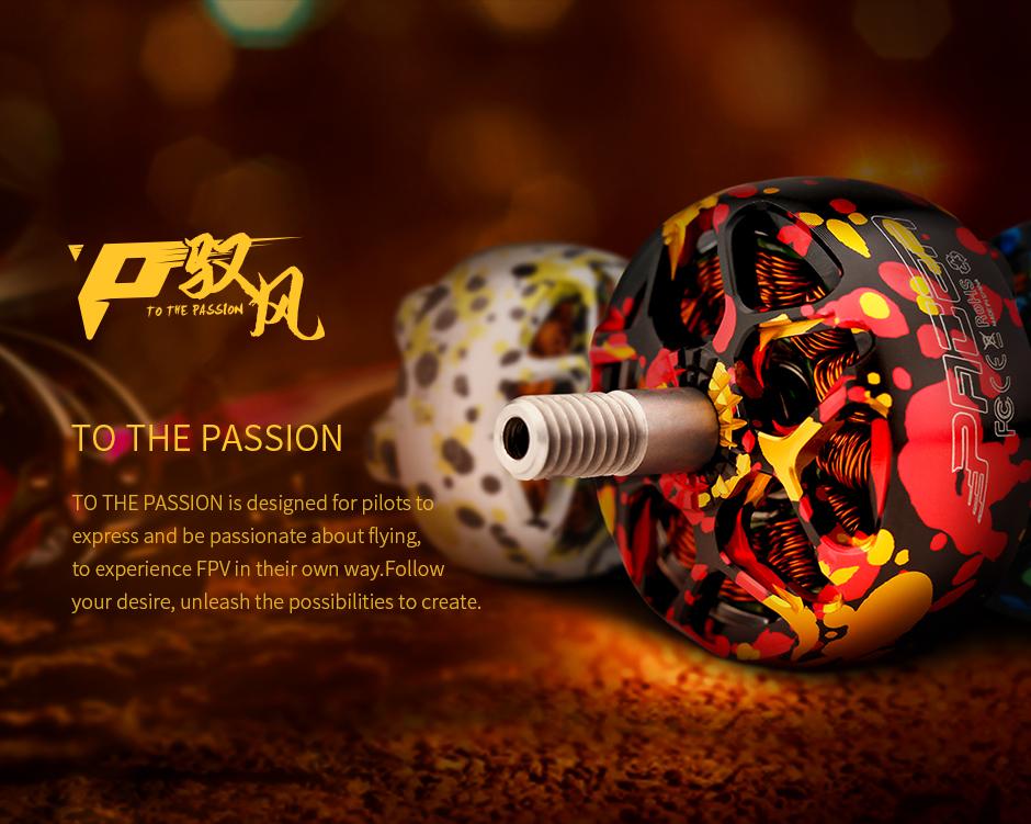 T-Motor Pacer P2306.5 2400Kv Mix Dorado1