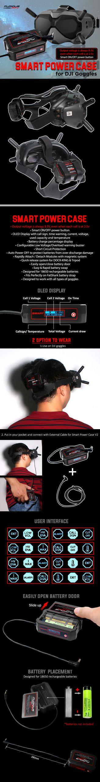 Comprar Estuche inteligente Gafas DJI FPV