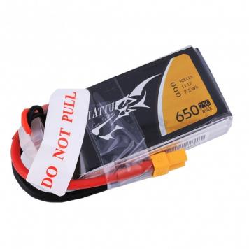 Batería Tattu 11.1V 650 mAh 75C 3S XT30