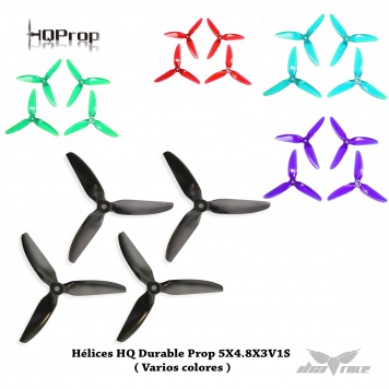 Hélices HQ Durable Prop 5X4.8X3V1S