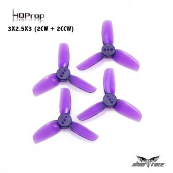 Hélices HQ Prop 3X2.5X3 (2CW + 2CCW)