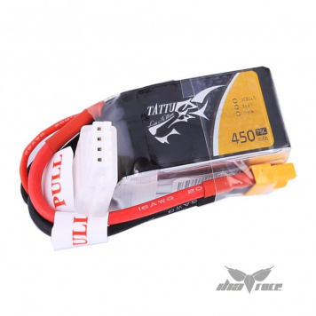 Tattu 450mAh 11.1V 75C 3S1P Batería Lipo XT30 Oferta